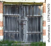 Wooden Door. Wooden Gate. The...