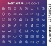 trendy linear big basic app ui  ...