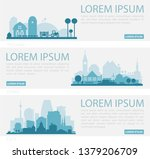 abstract stylish cityscape... | Shutterstock .eps vector #1379206709