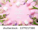 happy mothers day concept. top... | Shutterstock . vector #1379217380