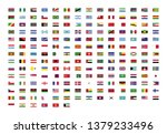 official national flags of the... | Shutterstock .eps vector #1379233496