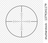 sniper rifle aim isolated on... | Shutterstock .eps vector #1379241179