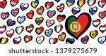 song festival euro songfestival ... | Shutterstock .eps vector #1379275679