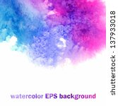 vector background. multicolor... | Shutterstock .eps vector #137933018