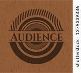 audience retro style wooden...   Shutterstock .eps vector #1379339336
