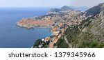 skyline of dubrovnik city and... | Shutterstock . vector #1379345966