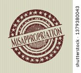 red misappropriation with...   Shutterstock .eps vector #1379380043
