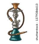 hookah. vector vintage...   Shutterstock .eps vector #1379386613