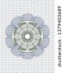 blue and green linear rosette   Shutterstock .eps vector #1379403689