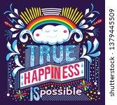 feeling great typography slogan   Shutterstock .eps vector #1379445509