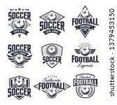 european football classic... | Shutterstock .eps vector #1379453150