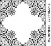 vector vintage floral ...   Shutterstock .eps vector #1379482046