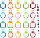 web element set | Shutterstock .eps vector #137948420