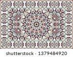 vintage arabic pattern. persian ...   Shutterstock .eps vector #1379484920