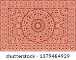 vintage arabic pattern. persian ...   Shutterstock .eps vector #1379484929