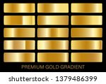 vector collection of gold...   Shutterstock .eps vector #1379486399