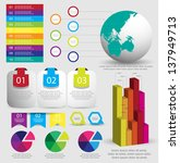infographic elements | Shutterstock .eps vector #137949713