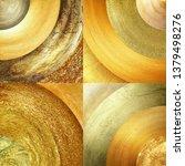 abstract golden circles... | Shutterstock . vector #1379498276