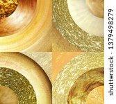 abstract golden circles... | Shutterstock . vector #1379498279