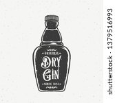 original dry gin abstract...   Shutterstock .eps vector #1379516993
