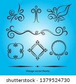 vintage vector theme for...   Shutterstock .eps vector #1379524730