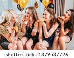 girls party. young ladies... | Shutterstock . vector #1379537726