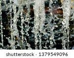 abstract water splash isolated... | Shutterstock . vector #1379549096