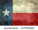 the lone star flag of the great ... | Shutterstock . vector #137956460
