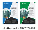 corporate business flyer poster ... | Shutterstock .eps vector #1379592440