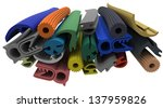 extruded rubber profile ... | Shutterstock . vector #137959826