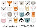 vector collection of cute...   Shutterstock .eps vector #1379609606