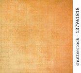 Orange Background Linen Canvas...