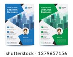 corporate business flyer poster ... | Shutterstock .eps vector #1379657156