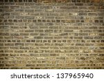 Brick wall for background or texture - stock photo