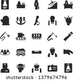 solid vector icon set   builder ... | Shutterstock .eps vector #1379674796