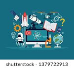 creative flat design... | Shutterstock .eps vector #1379722913