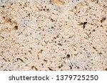 Stone. Close Up Of Travertine...