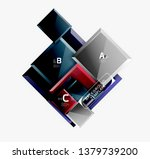 abstract square composition for ... | Shutterstock .eps vector #1379739200