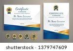 premium certificate of...   Shutterstock .eps vector #1379747609