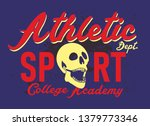 college basketball graphic... | Shutterstock .eps vector #1379773346