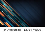 vector illustration of abstract ... | Shutterstock .eps vector #1379774003