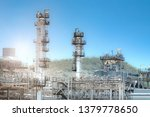 oil and gas refinery industry ... | Shutterstock . vector #1379778650