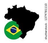 vector illustration of brazil... | Shutterstock .eps vector #1379781110
