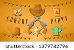 western background two revolver ... | Shutterstock .eps vector #1379782796