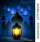 ramadan kareem  greeting... | Shutterstock .eps vector #1379788196