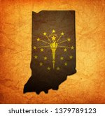 territory of Indiana state isolated from other states of USA