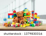 toys collection isolated on ... | Shutterstock . vector #1379830316