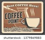 coffeeshop or coffee brewing... | Shutterstock .eps vector #1379869883