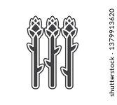 vector asparagus icon. element...   Shutterstock .eps vector #1379913620