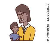 father with son avatar character | Shutterstock .eps vector #1379983673